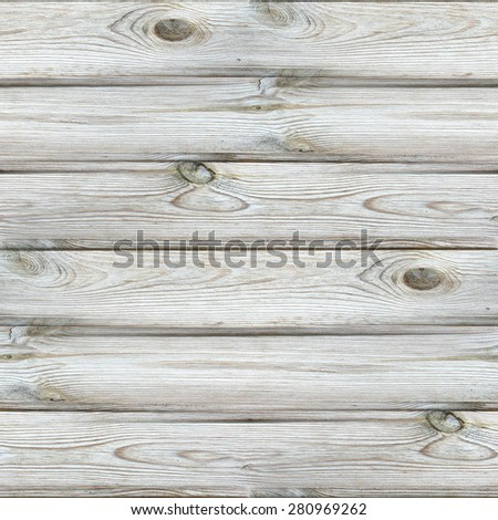 White wooden texture. Destroyed surface. Seamless background in grunge style.