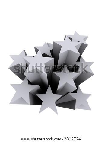 3d stars #2812724