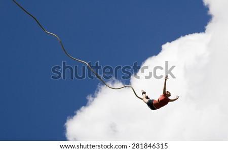 Bungee jumping #281846315