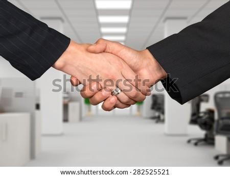 Handshake, Women, Female. #282525521