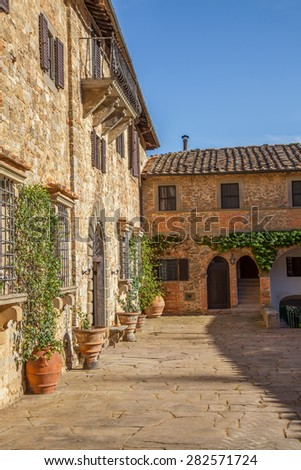 Colle di Val dâ Elsa City Tuscany #282571724