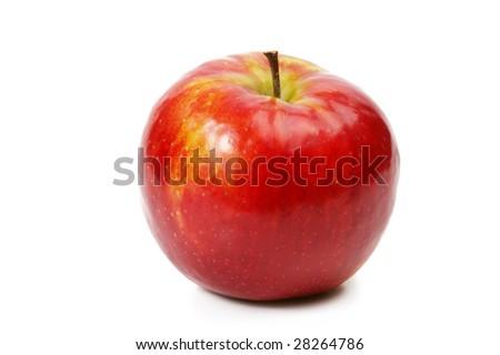 fresh red apple #28264786