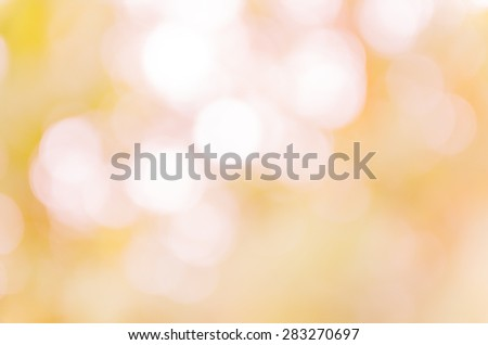 Beautiful bokeh soft background from the nature #283270697
