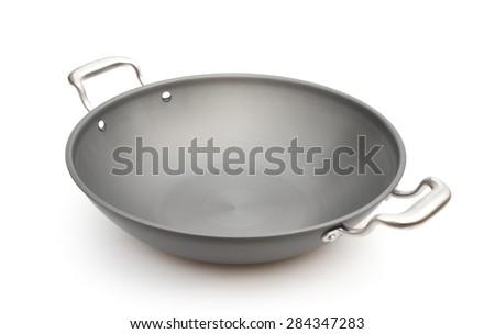 wok on a white background #284347283