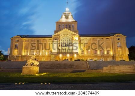 Haken terraces,Szczecin,Poland  Royalty-Free Stock Photo #284374409