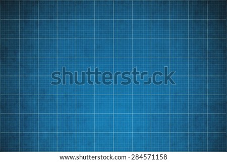 old blueprint background texture. Technical backdrop paper. Concept Technical / Industrial / Business / Engineering Royalty-Free Stock Photo #284571158