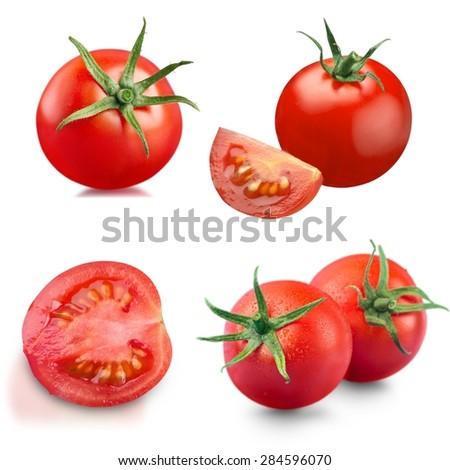 Tomato, fresh, clipping. #284596070