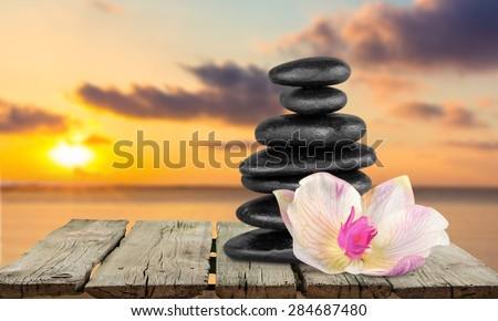 Spa Treatment, Health Spa, Stone. #284687480