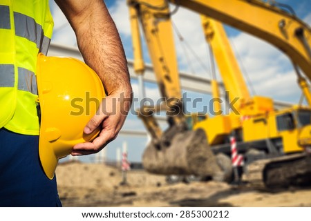 Construction worker Royalty-Free Stock Photo #285300212