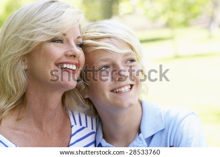 Woman And Her Son #28533760