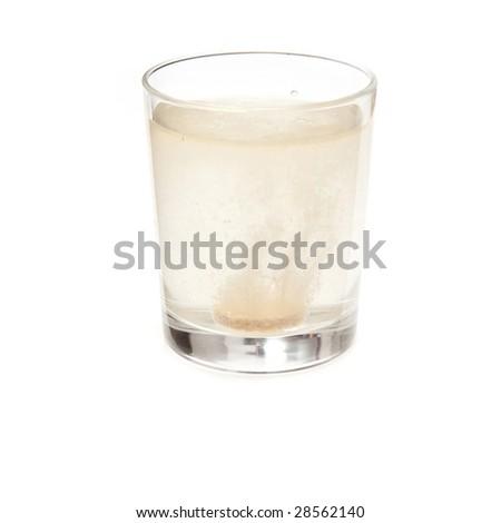 Effervescent vitamin C tablet. #28562140