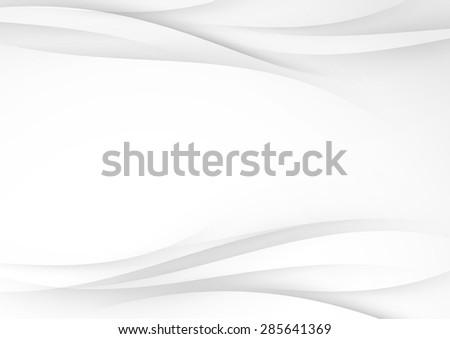 Gradient swoosh smooth soft line background. Vector illustration