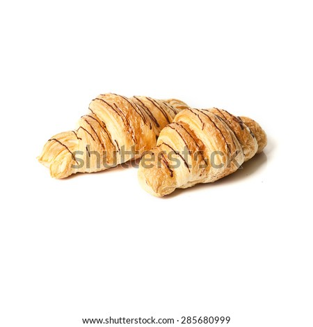 Homemade french croissants  #285680999