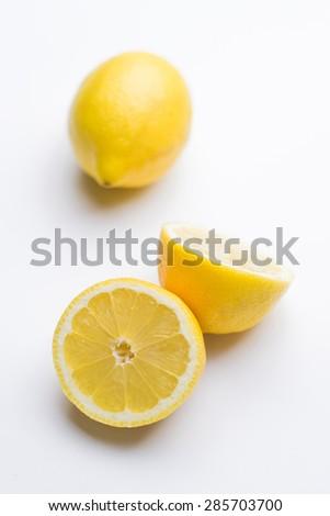 Cut lemon - isolated #285703700