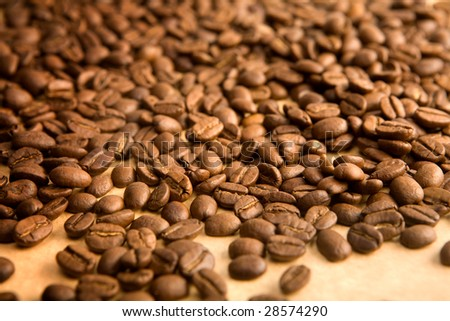 background of coffe grains #28574290