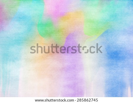 Abstract colorful water color for background. #285862745