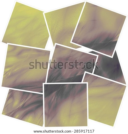 A square, earth tone background with many textures. #285917117