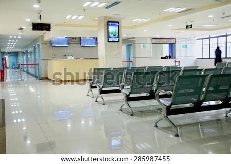 hospital interior #285987455
