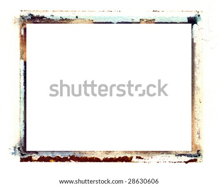 instant photo transfer photo border