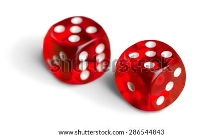 Dice, Red, Chance. #286544843