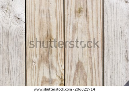 Close up of wooden panels #286821914