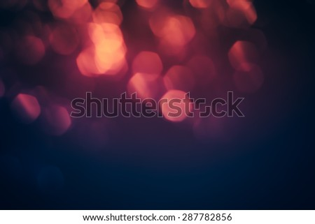 Blurred lights with bokeh effect Background, Abstract Blur #287782856