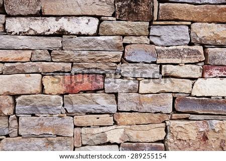 Stone wall background #289255154