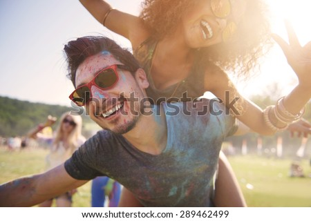 It's the best party ever! Royalty-Free Stock Photo #289462499