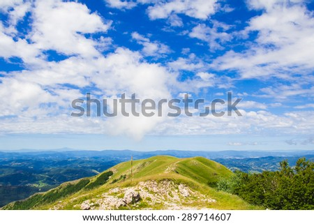 Panoramic view from Monte Nerone #289714607