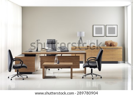 VIP office furniture Royalty-Free Stock Photo #289780904