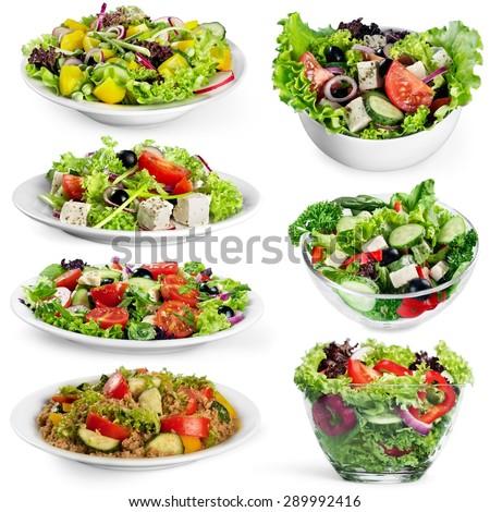 Food, plate, salad. #289992416