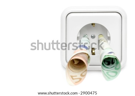 Electricity Costs (Front View) #2900475