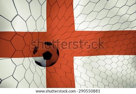 England soccer ball Color Vintage #290550881