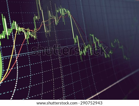 Business background. Market Analyze.Bar graphs, diagrams, financial figures. Forex. #290752943