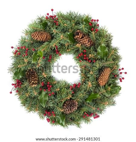 Wreath, Christmas, Holly. #291481301