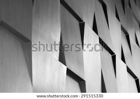 Wood wall geometry decoration background Royalty-Free Stock Photo #291515330