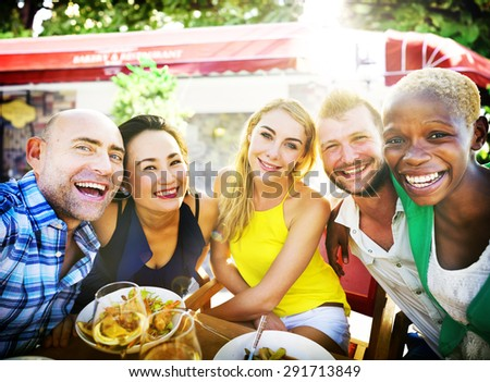 People Party Friendship Togetherness Happiness Concept #291713849