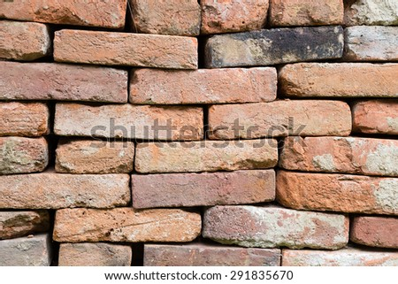 Background of brick wall texture #291835670