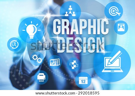 Graphic design service concept illustration #292018595