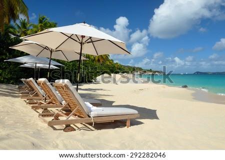 Beautiful beach. Weekend of the Caribbean #292282046
