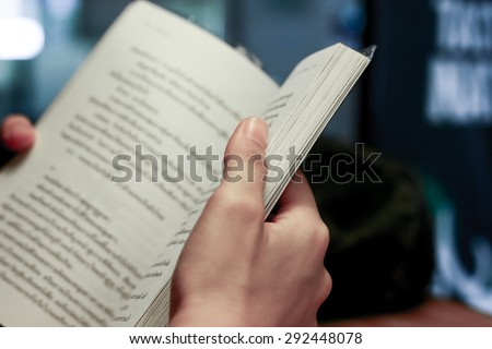 reading book is make people perfect #292448078
