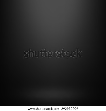 Abstract gradient black, used as background for display your products - Vector