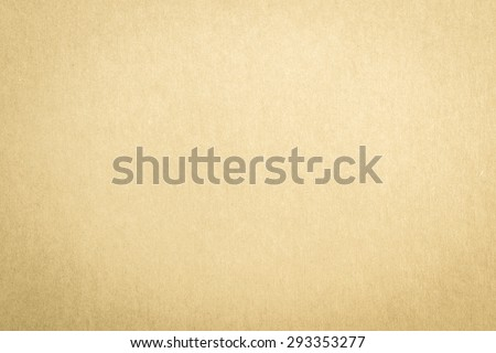 Recycled craft paper textured background in light yellow brown color   #293353277