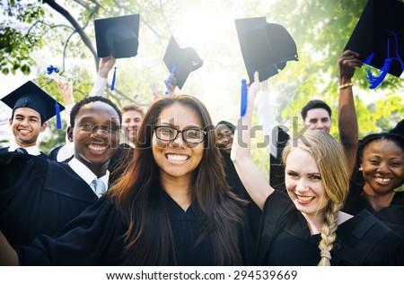 Graduation Student Commencement University Degree Concept #294539669