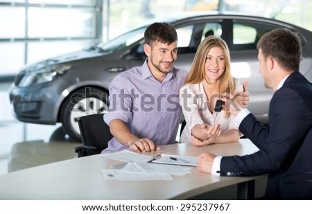 Car, Car Dealership, Car Salesperson.