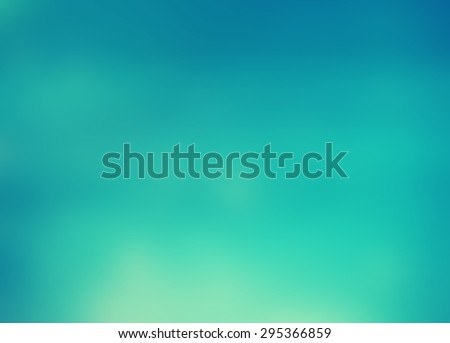 Blurred turquoise water background. Summery and fresh, with vibrant blue shades. Pool water. Good for summer posters. #295366859
