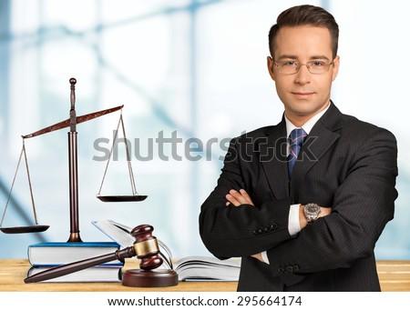 Law, lawyer, books.