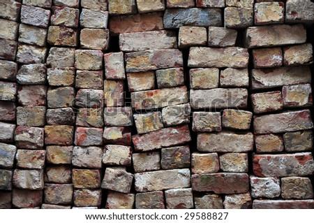 lined up bricks #29588827