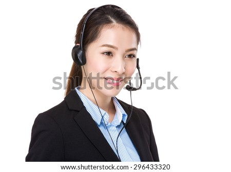 Customer services agent #296433320