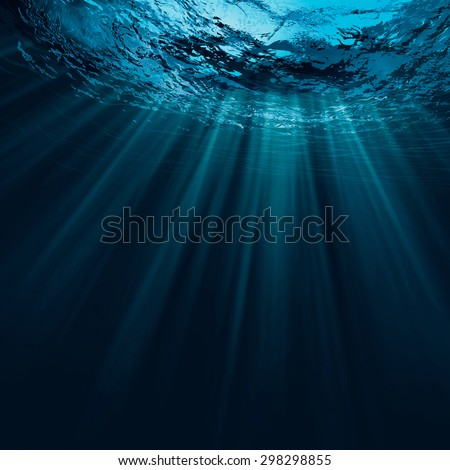 Deep water, abstract natural backgrounds Royalty-Free Stock Photo #298298855